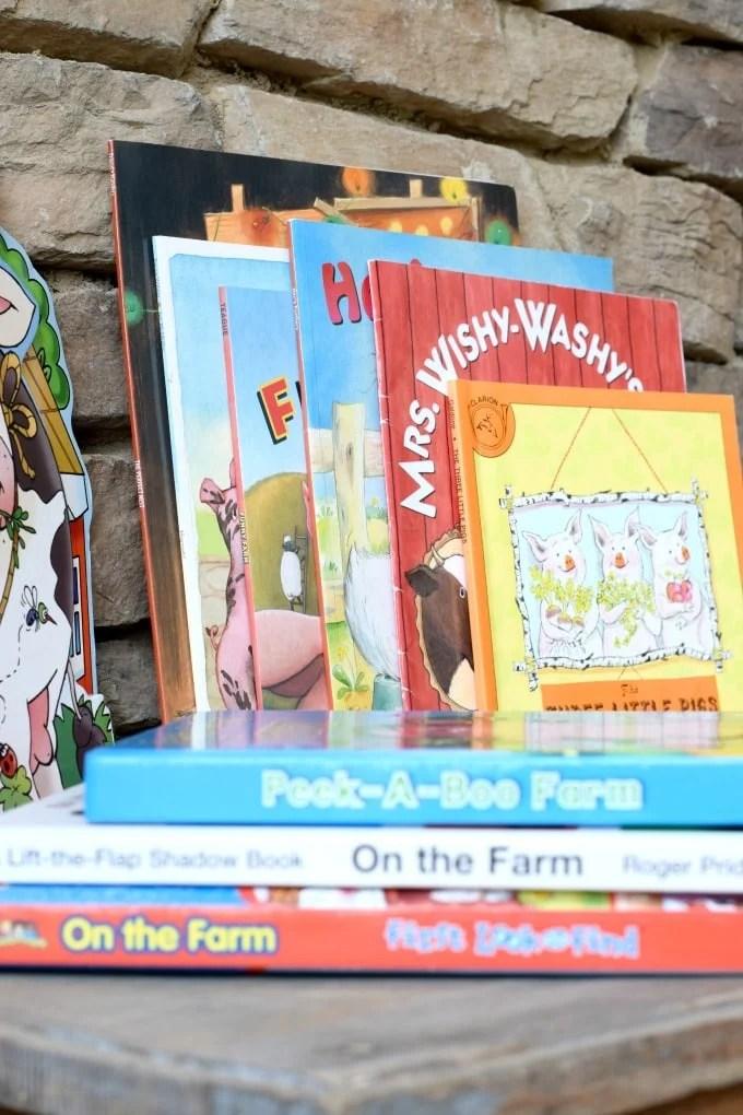 Homeschool Pre-school Unit Prep List Farm Books by This Little Home of Mine