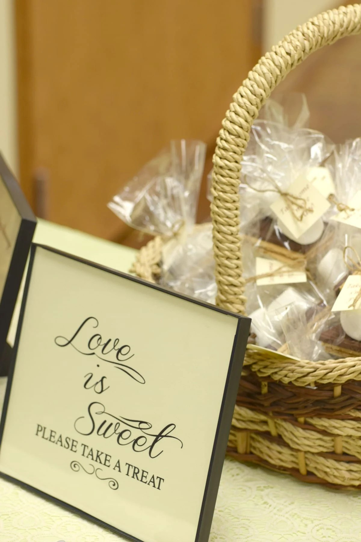 bridal shower love is sweet smores party favor by this little home