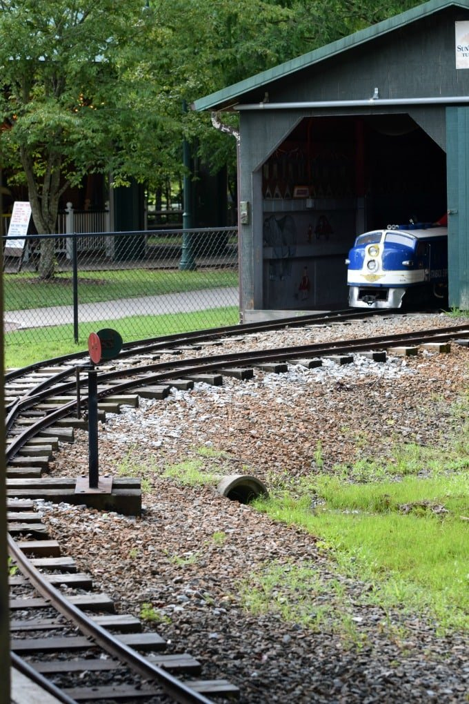 Dan Nicholas Park - Salisbury, NC Train by This Little Home of Mine