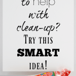 Smarties Candy – Quick Cleanup Idea