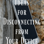 How to Disconnect from Your Device