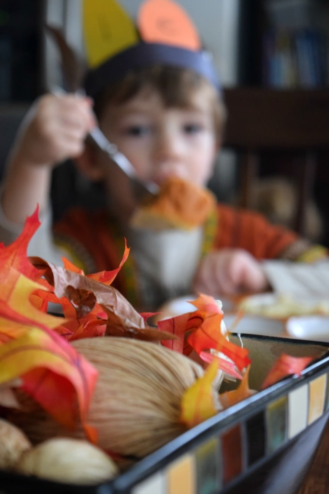 Thanksgiving Activities for Kids - Dress Up Like an Indian by This Little Home of Mine