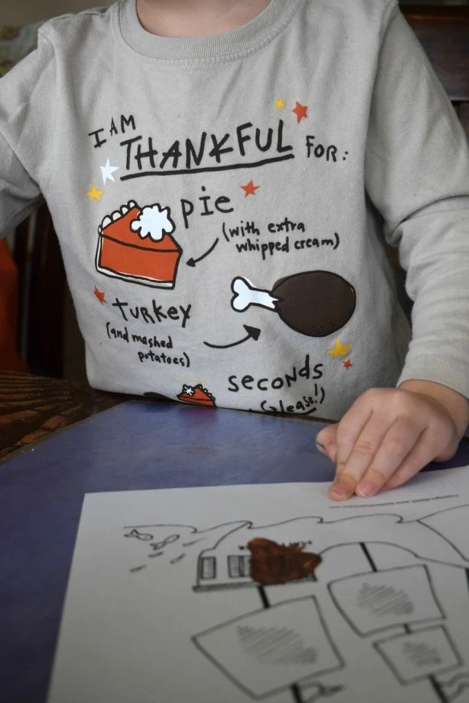 Thanksgiving Activities for Kids - Paint a Mayflower by This Little Home of Mine