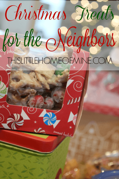 Christmas Treats to Deliver to Your Neighbors