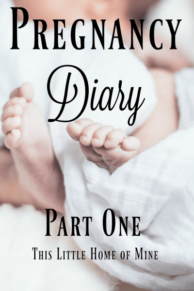 Pregnancy Diary – Part One