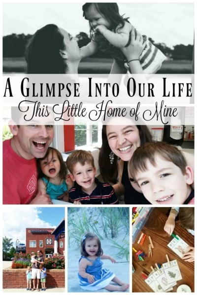 A Glimpse Into Our Life - June and July by This Little Home of Mine