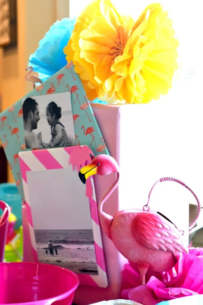 Birthday Party: Flamingos and Pineapples by This Little Home of Mine