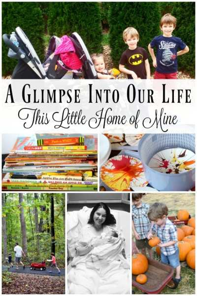 A Glimpse Into Our Life - October and November by This Little Home of Mine