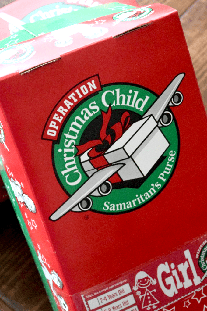 Operation Christmas Child Labels 2019.Our Operation Christmas Child Shoeboxes This Little Home