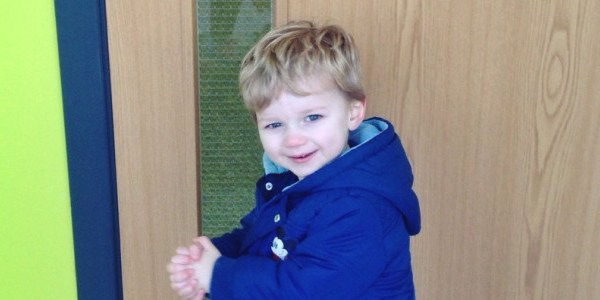 ARCHIE'S FIRST DAY AT NURSERY