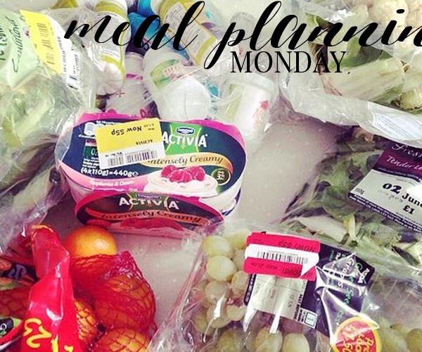 MEAL PLANNING MONDAY #4