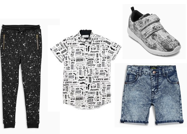 My NEXT Summer Monochrome Picks for Boys @gymbunnymum