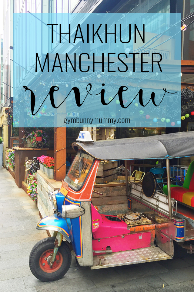 I love Thai food and when I say love I mean I could eat it every day and not get bored. We're so lucky that there's so many Thai restaurants in Manchester but one I hadn't heard of before is Thaikhun. This is our review of Thaikhun Manchester, Spinningfields