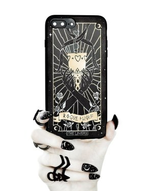 Rogue & Wolf Lovers iPhone Case