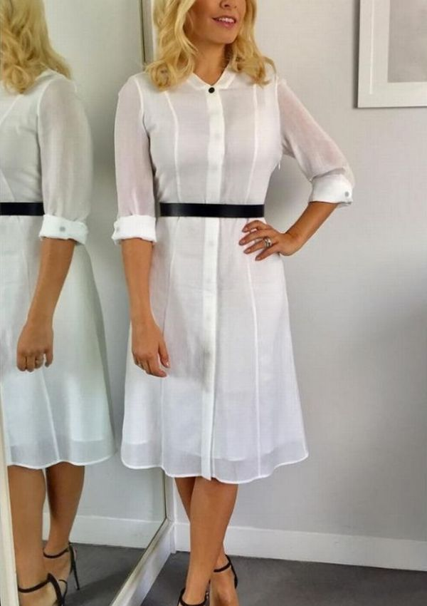 Steal Her Style | Holly Willoughby's Shirt Dress from only £12