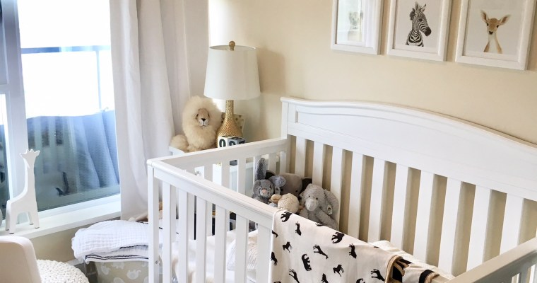 Our DIY Small Nursery Makeover