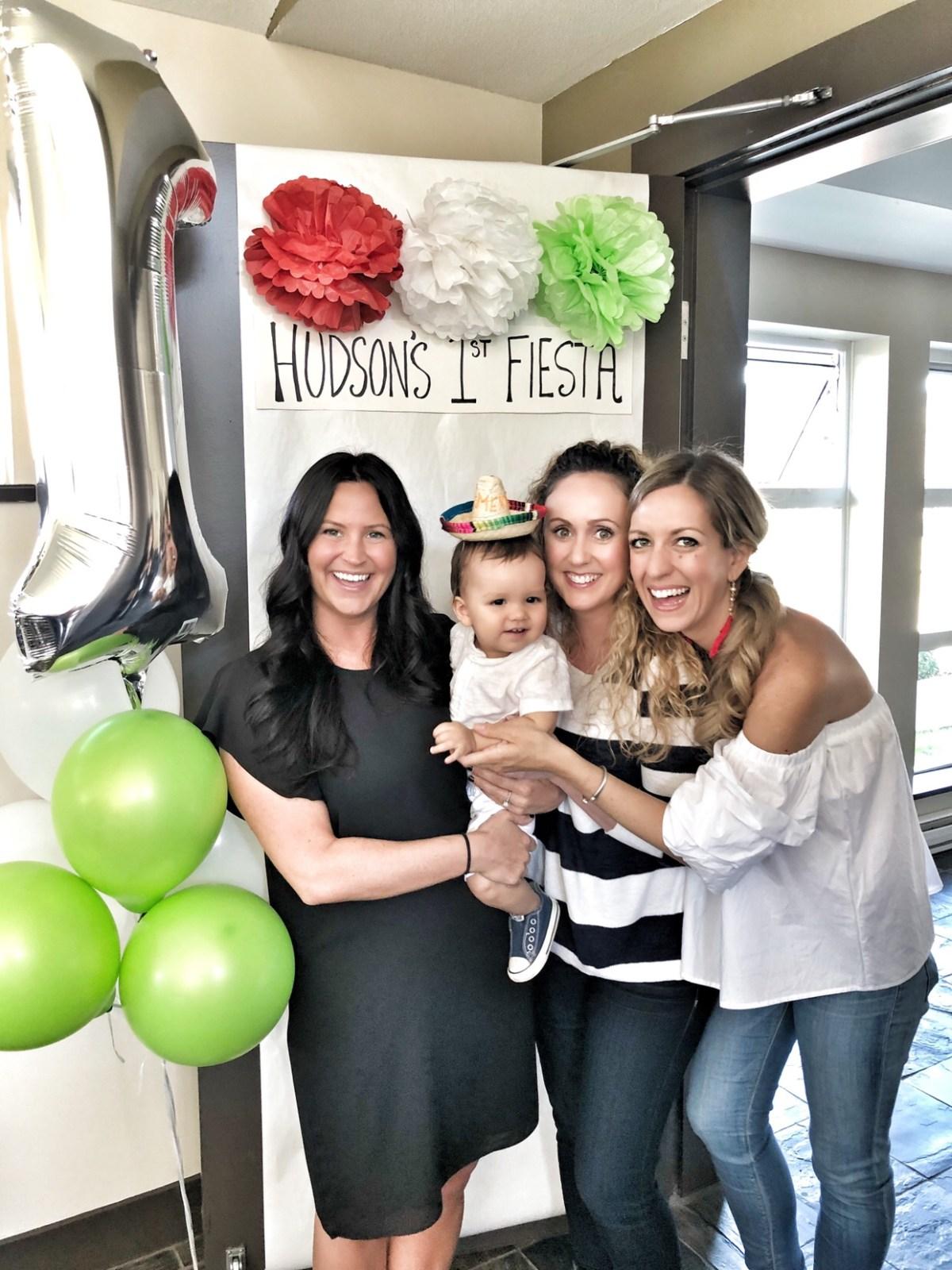 first fiesta - baby Hudson's first birthday