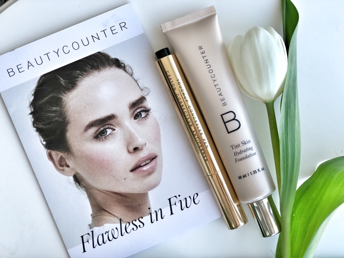 beautycounter tint skin and concealer pen