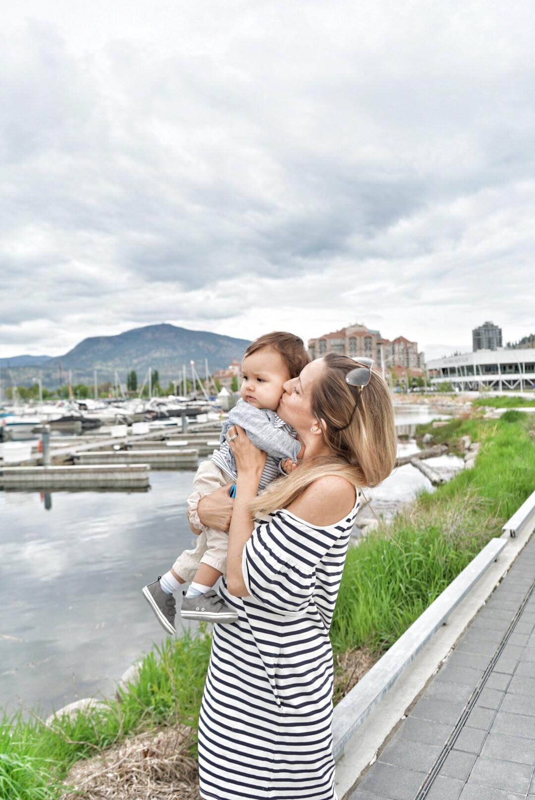 visiting kelowna with baby