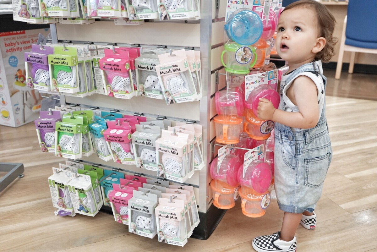 baby shopping at bed bath and beyond