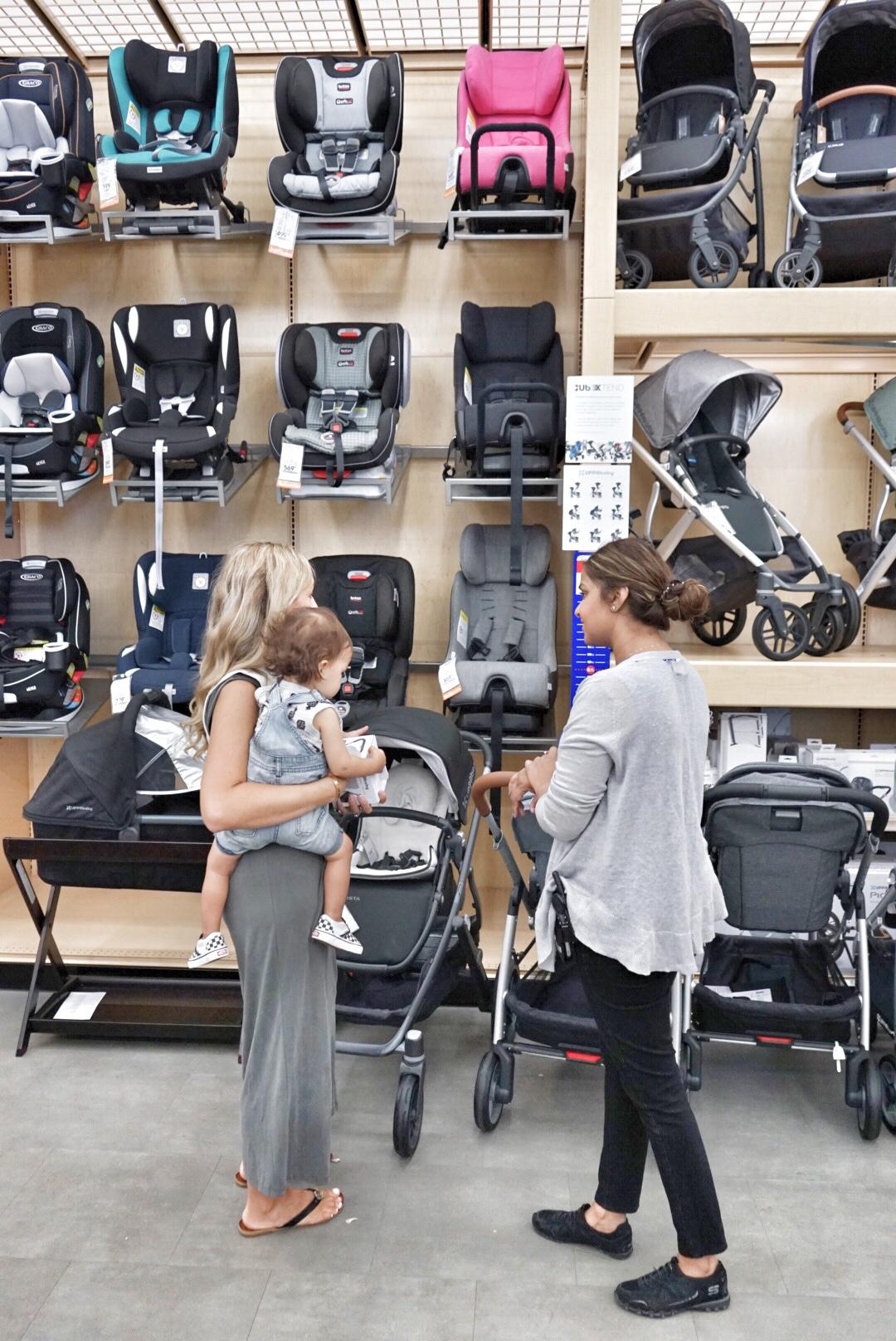 car seat shopping at buybuy Baby