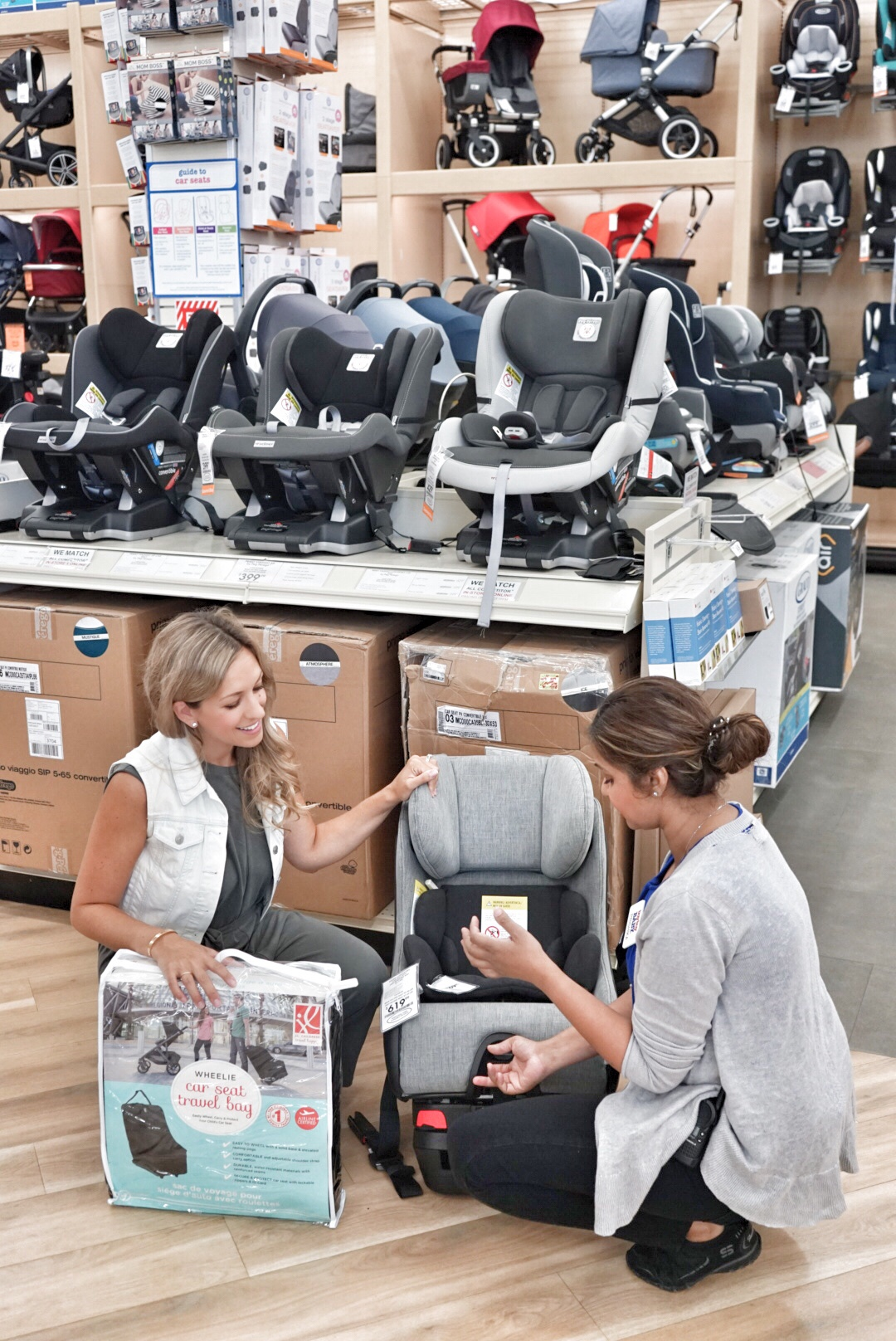 choosing the perfect car seat at buybuy baby