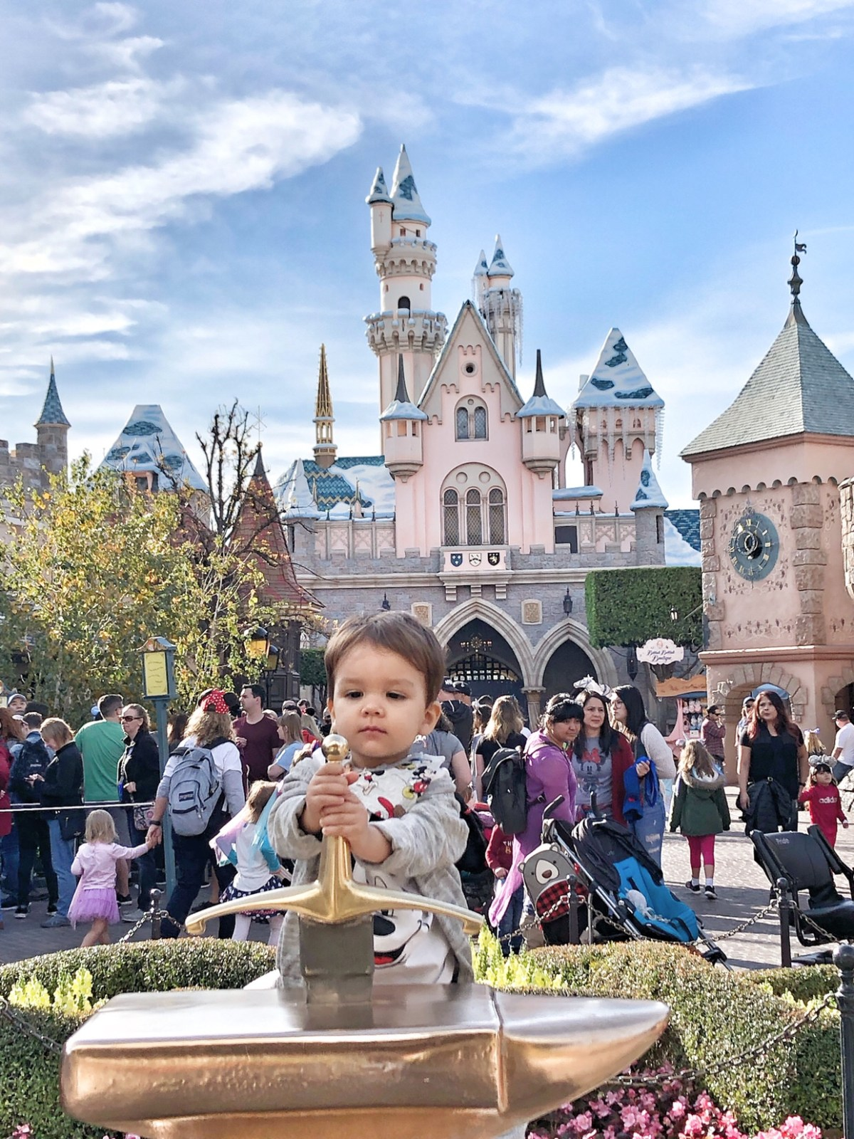 Fantasyland with our toddler