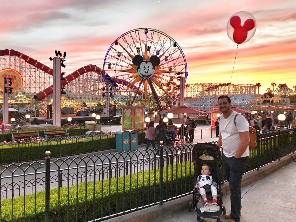 Sunset at Disney