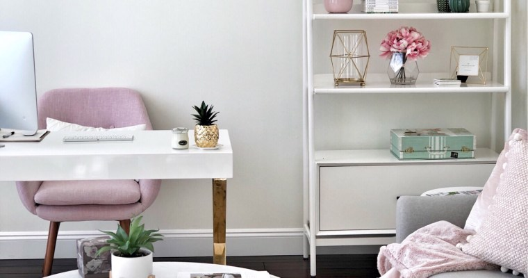 How to create a chic and cozy home office space!