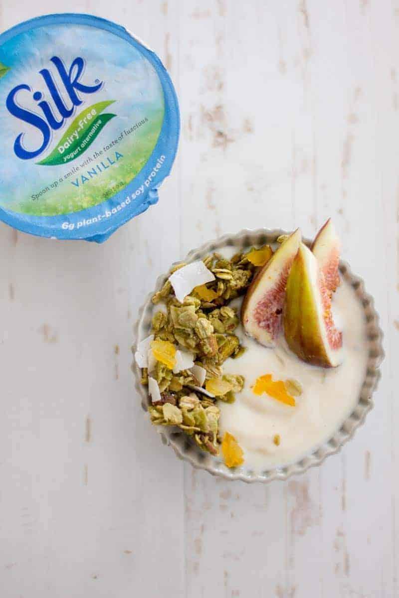 @lovemysilk yogurt and green tea granola recipe on @beardandbonnet