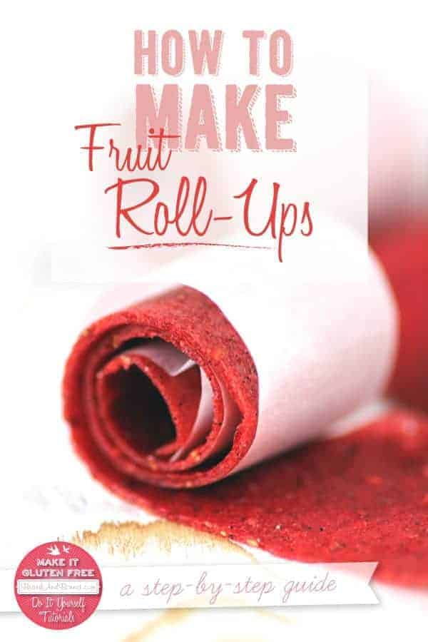 how to make healthy fruit roll ups what fruit has the most protein