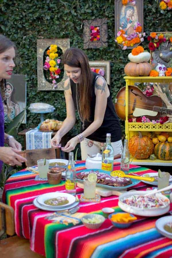 How to Throw a Day of the Dead Feast | @thismessisours