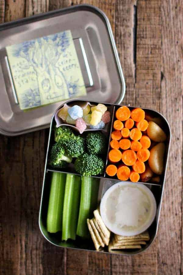 4 Easy Lunch Boxes For Busy Weekdays || @thismessisours #ad @taylorfarms