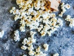 diy brown bag microwave popcorn