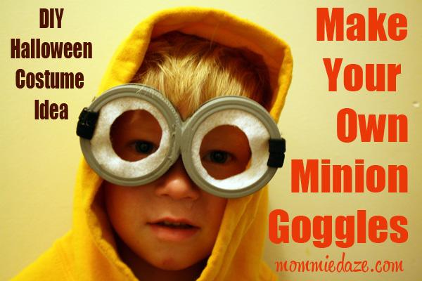 Halloween Costume Idea Diy Despicable Me Minion Goggles This
