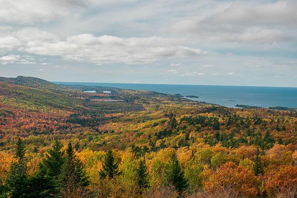 Copper Harbor Michigan Fall Color Tour.