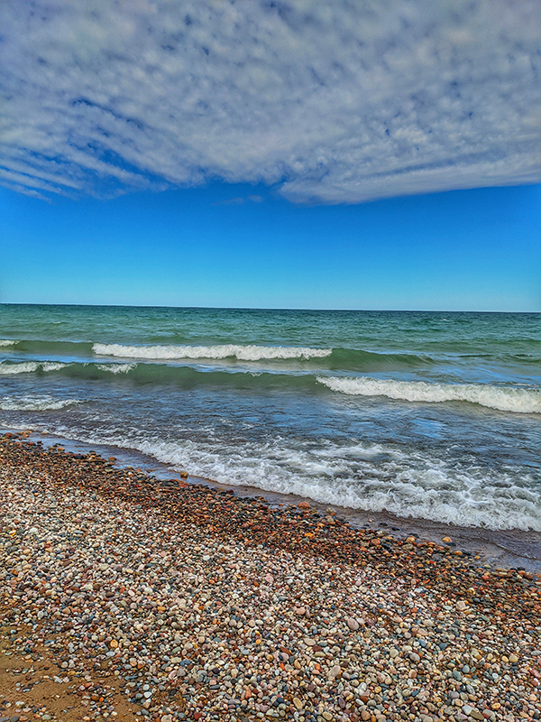 Lake Superior in early Fall