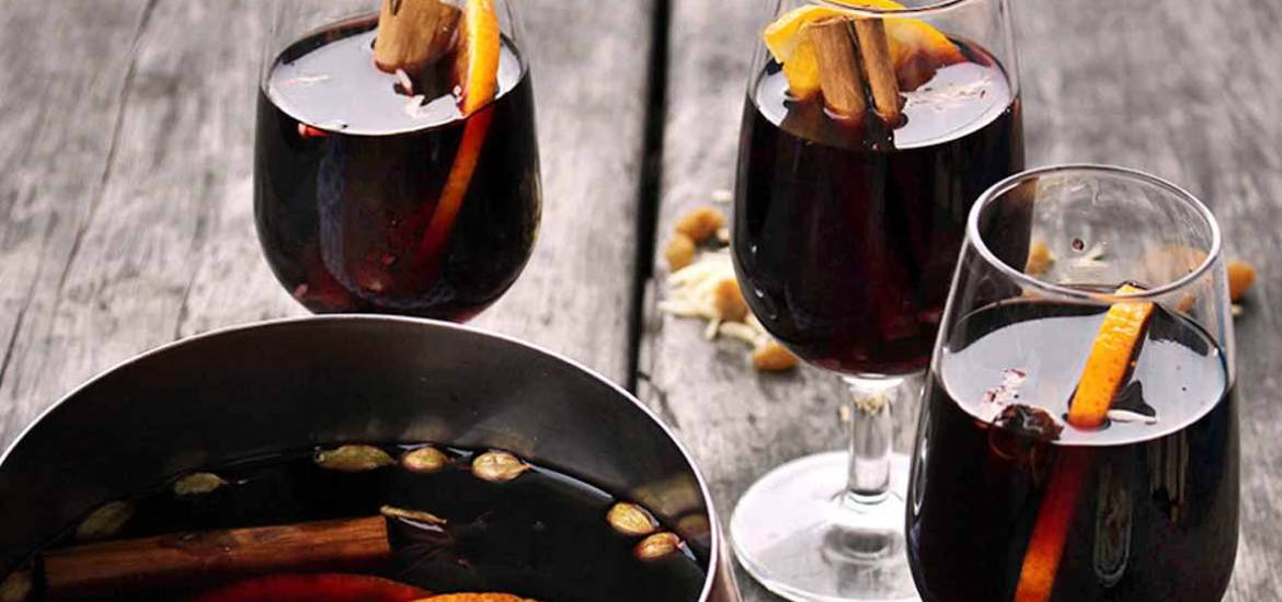 Swedish Glogg Recipe perfect for the holidays or any winter evening. Very similar to mulled wine.