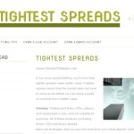 Tightest Spreads