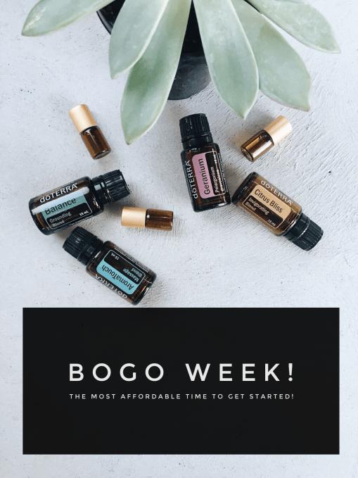 BOGO Week Promo // Doterra // The Essential Mama Co