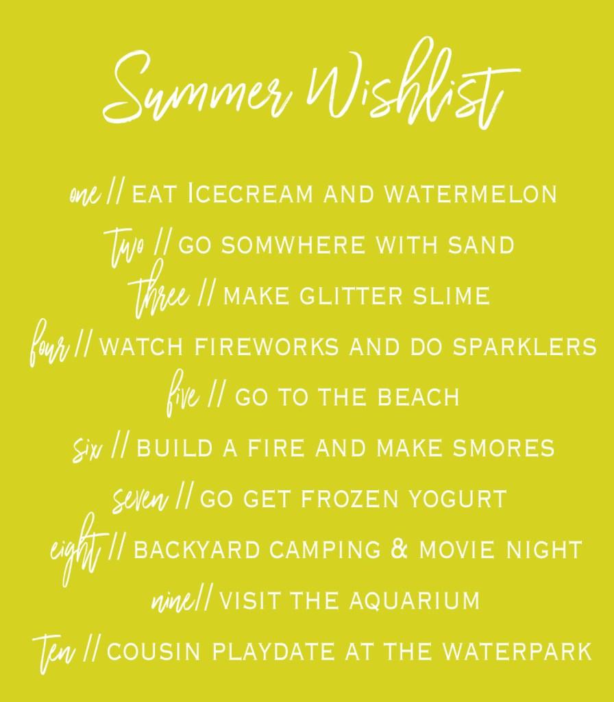 This Modern Farmhouse Blog // Summer 2017 Wishlist
