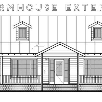 This Modern Farmhouse// Exterior