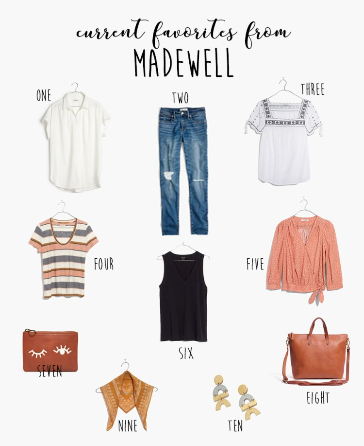 """This Modern Farmhouse """"Current Favorites: Madewell"""""""