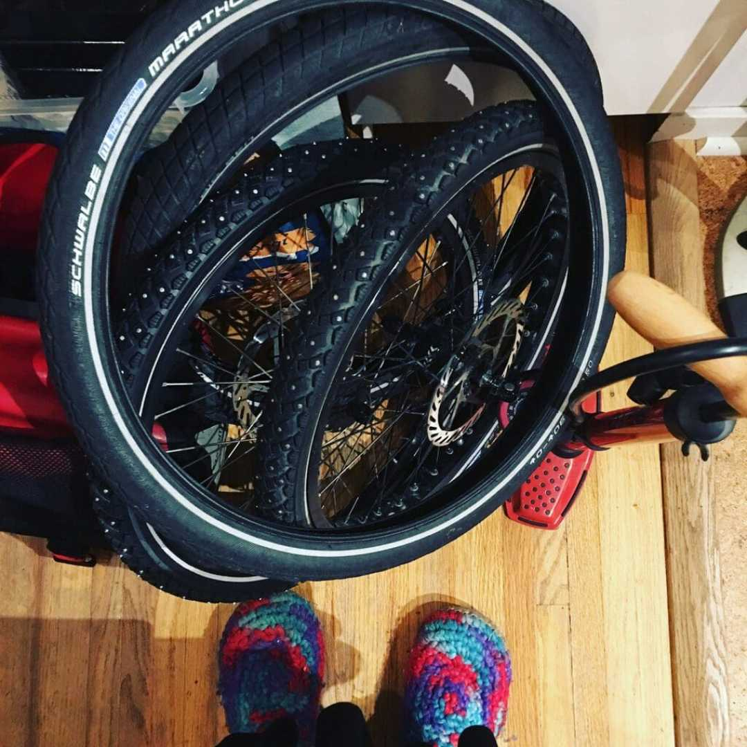 winter bike tires