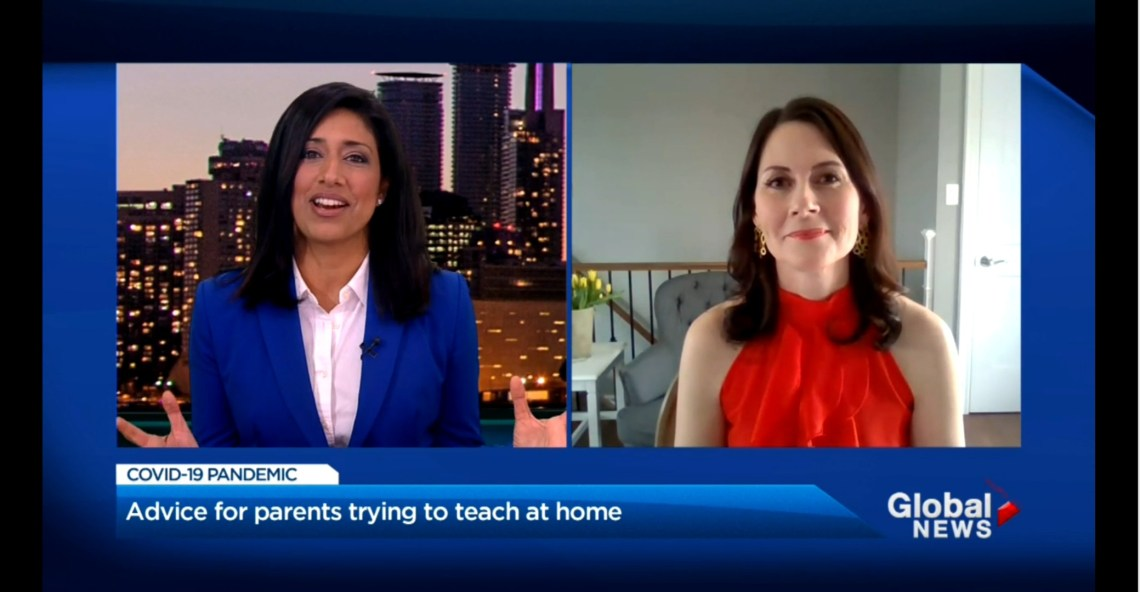 Farah Nasser Kate Winn learn at home tips parents Global News Toronto