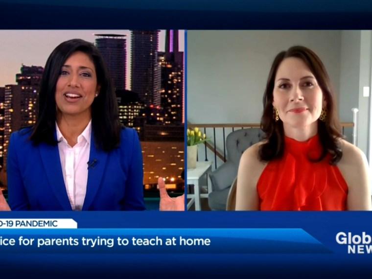 Farah Nasser Kate Winn learn at home tips parents Global News Toronto