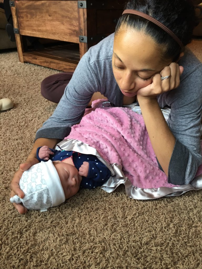 This Mommy's Heart - My PPCM Story - My little baby girl
