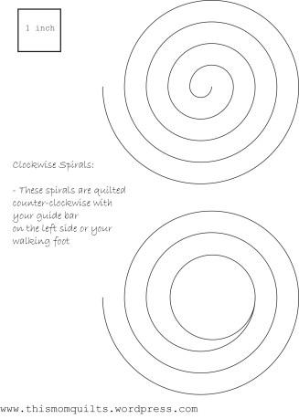 Clockwise Spiral