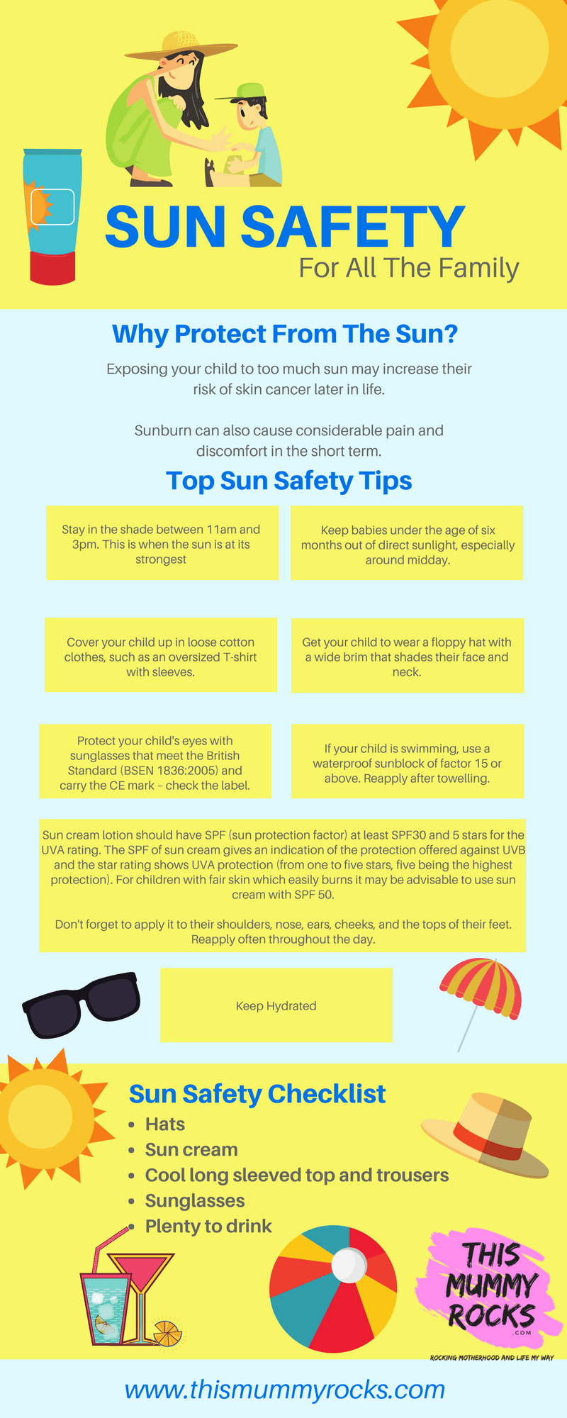 Sun Safety For All Of The Family