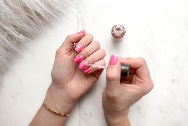 painting nails. nail art. nail varnish